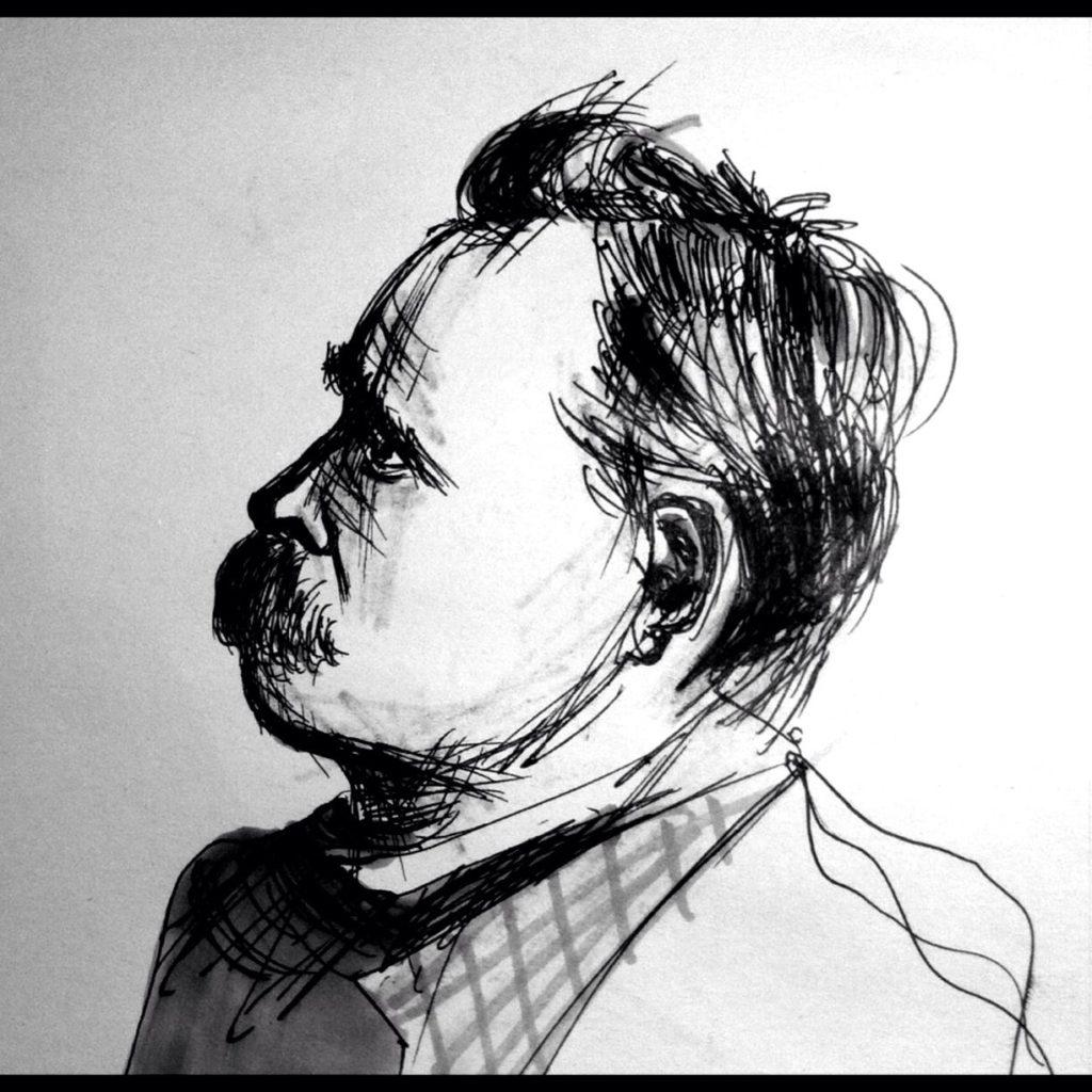 le lacrime di Nietzsche, ritratto del filosofo, psicologia