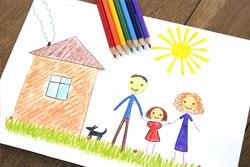 disegno-dei-bambini psicoterapia infantile roma