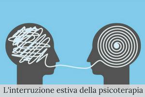 Interruzione estiva della psicoterapia