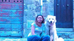 Franesca Romana Moscato cane pastore maremmano